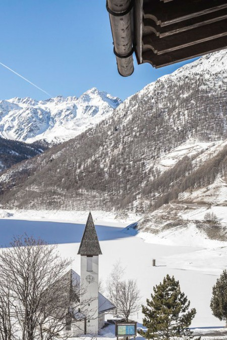 Schnalstal See Kapelle Chalet
