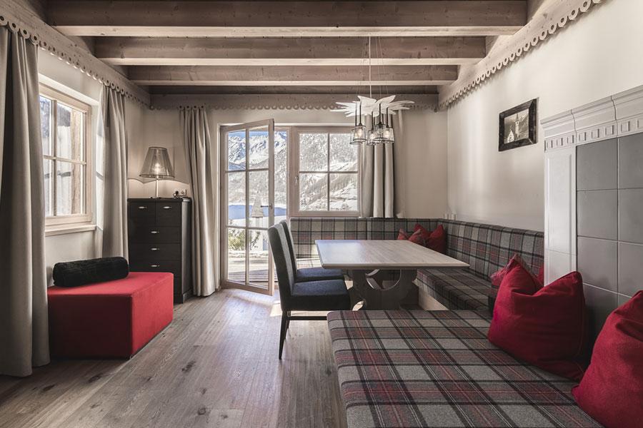 Alpine hut holiday village South Tyrol