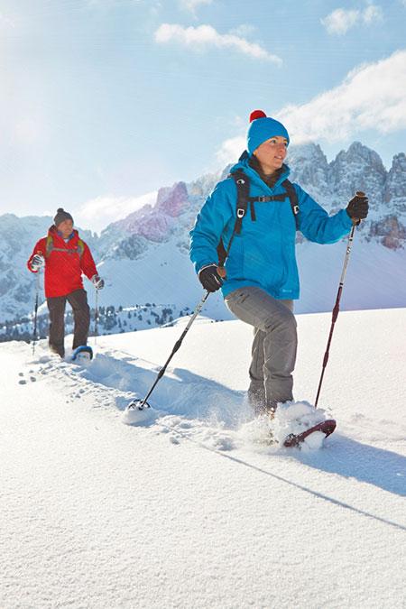 Schneeschuhwandern Hotel Schnalstal