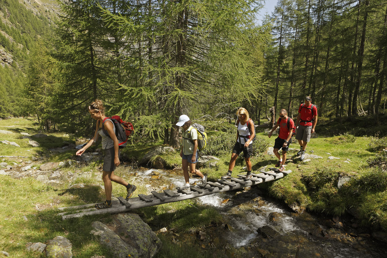 Groundhog hiking Val Senales