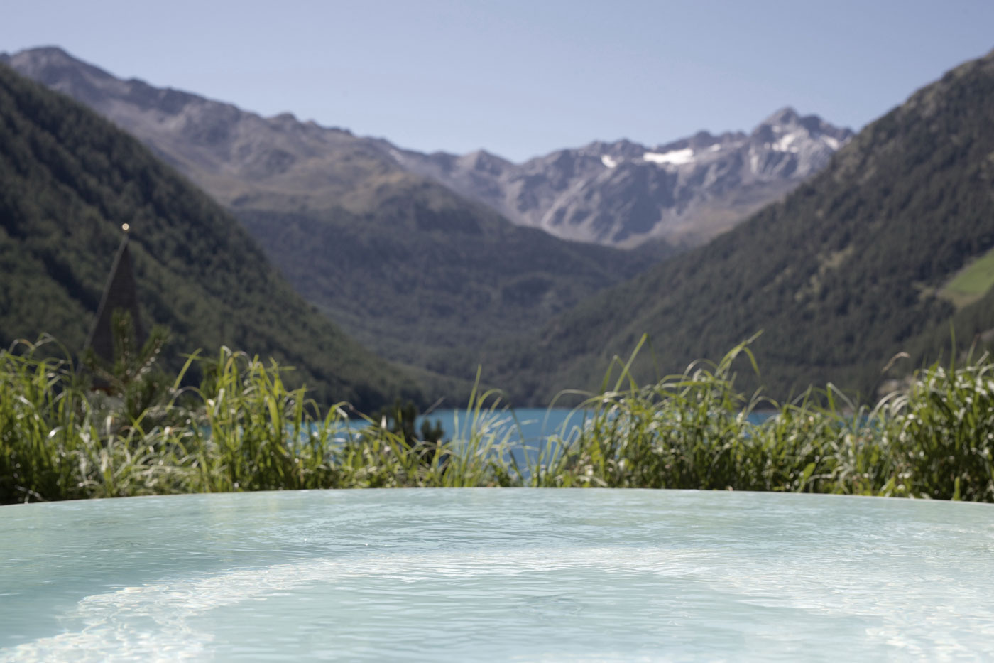 Vernago Whirlpool panorama Val Senales